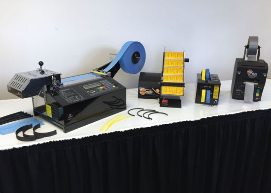 Start International - Tape & Label Dispensers and Non-adhesive Material Cutters